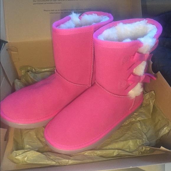c7586ea405c Koolaburra for ugg girls boots nib sz 4 NWT